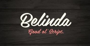 Belinda [1 Font] | The Fonts Master