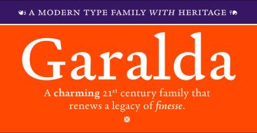 Garalda [8 Fonts] | The Fonts Master