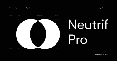 Neutrif Pro [10 Fonts] | The Fonts Master