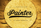 Painter [1 Font] | The Fonts Master