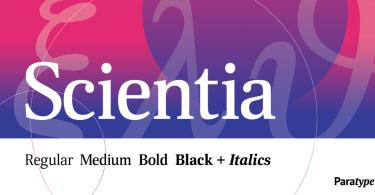Scientia [8 Fonts] | The Fonts Master
