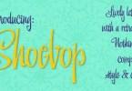 Shoebop [1 Font] | The Fonts Master