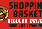 Shopping Basket Jnl [2 Fonts] | The Fonts Master