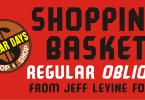 Shopping Basket Jnl [2 Fonts]   The Fonts Master