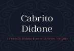 Cabrito Didone Super Family [42 Fonts] | The Fonts Master