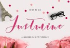 Justmine Modern Script [2 Fonts] | The Fonts Master