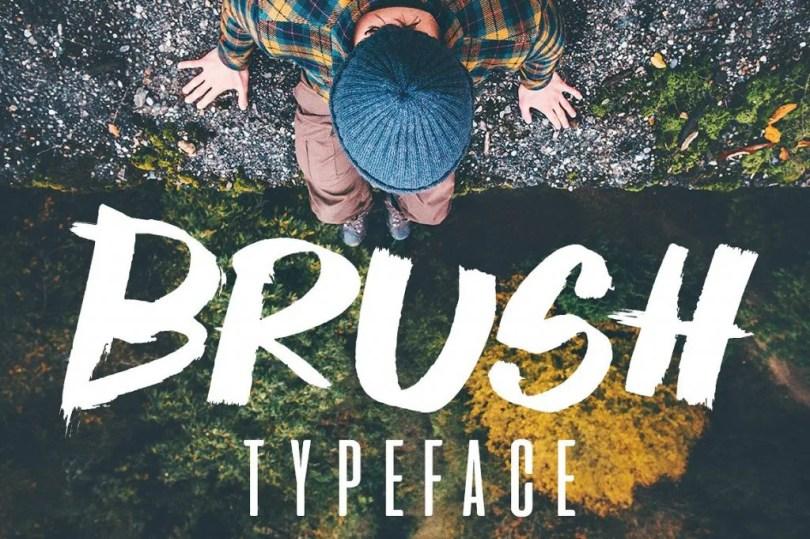 Brush Typeface [1 Font] | The Fonts Master