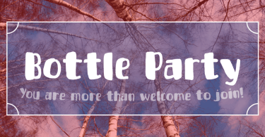 Bottle Party [1 Font] | The Fonts Master