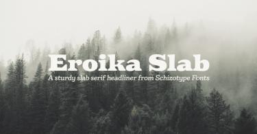 Eroika Slab [10 Fonts] | The Fonts Master