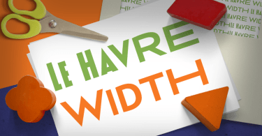 Le Havre Width [6 Fonts] | The Fonts Master