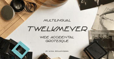 Twelkmeyer [1 Font] | The Fonts Master