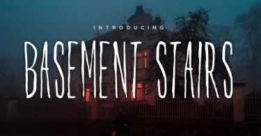 Basement Stairs [1 Font]   The Fonts Master
