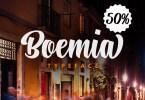 Boemia [1 Font] | The Fonts Master