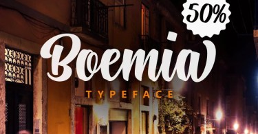 Boemia [1 Font] | The Fonts Master