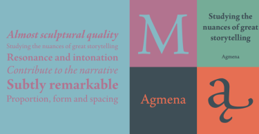 Agmena [8 Fonts] | The Fonts Master