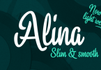 Alina [2 Fonts] | The Fonts Master