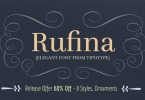 Rufina [9 Fonts] | The Fonts Master