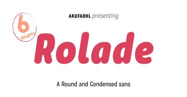 Rolade [12 Fonts]   The Fonts Master