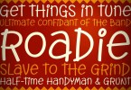 Roadie Pb [1 Font] | The Fonts Master