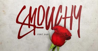 Smouchy [2 Fonts] | The Fonts Master