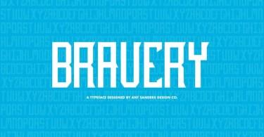 Asd Bravery [6 Fonts]   The Fonts Master