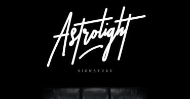 Astrolight [1 Font + Extra] | The Fonts Master