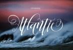 Atlantic [1 Font] | The Fonts Master