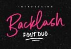 Backlash [3 Fonts]