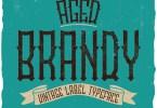 Brandy Vintage Label [6 Fonts] | The Fonts Master