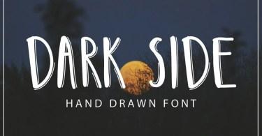 Darkside [1 Font] | The Fonts Master