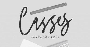 Casses [1 Font] | The Fonts Master