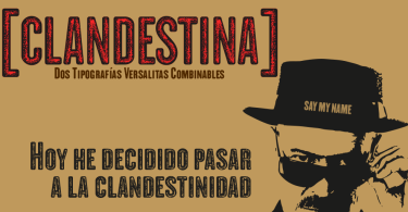 Clandestina [2 Fonts] | The Fonts Master
