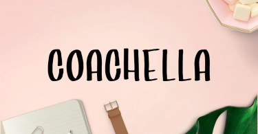 Coachella [1 Font] | The Fonts Master