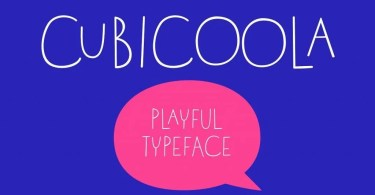 Cubicoola [1 Font] | The Fonts Master