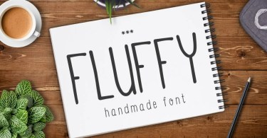 Fluffy [2 Fonts] | The Fonts Master