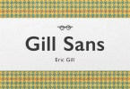 Gill Sans Super Family [58 Fonts] | The Fonts Master