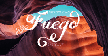Fuego [2 Fonts] | The Fonts Master