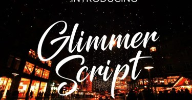 Glimmer [1 Font] | The Fonts Master