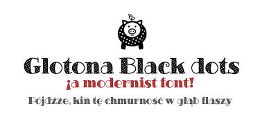 Glotona Dots [2 Fonts] | The Fonts Master