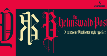 Helmswald Post [1 Font] | The Fonts Master