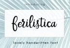 Ferilistica Script [1 Font] | The Fonts Master