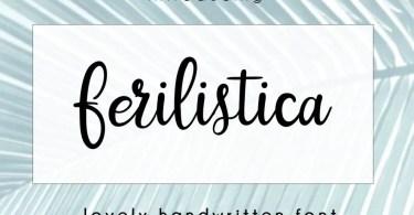 Ferilistica Script [1 Font]