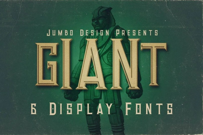 Giant [6 Fonts] | The Fonts Master
