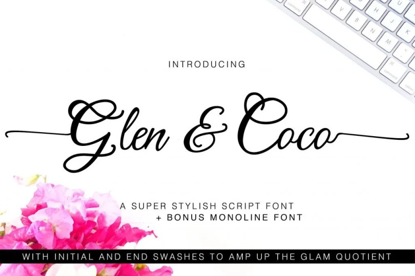Glen &Amp; Coco [2 Fonts] | The Fonts Master