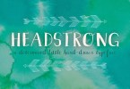 Headstrong [1 Font] | The Fonts Master