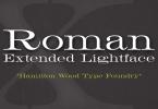Hwt Roman Extended Lightface [1 Font] | The Fonts Master