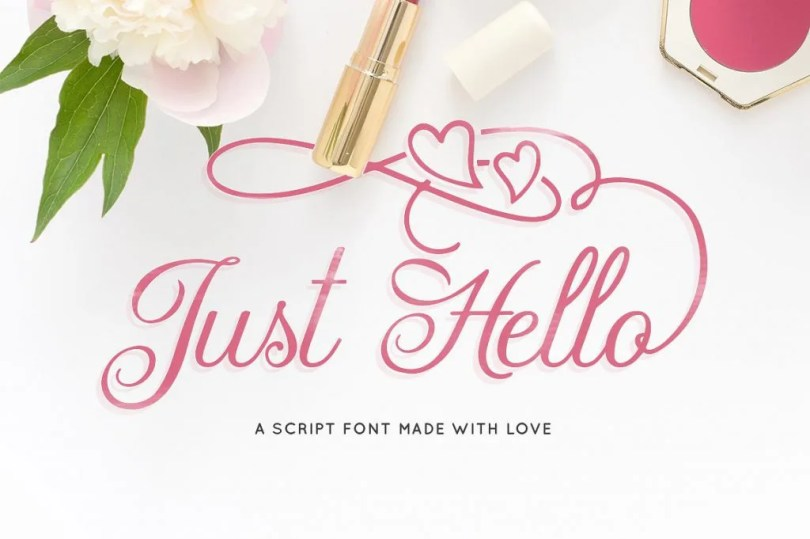Just Hello [1 Font]
