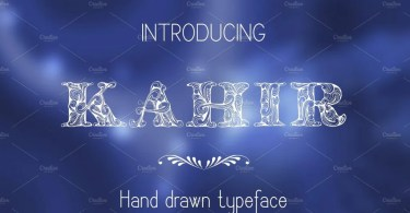 Kahir [1 Font] | The Fonts Master