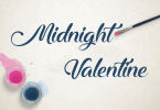 Midnight Valentine [1 Font] | The Fonts Master