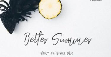 Miss Summer [2 Fonts]